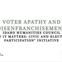 Voter Apathy
